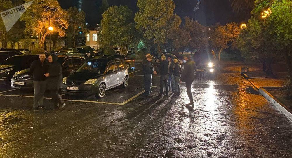 Конфликт между сотрудниками МВД и депутатами Парламента в Абхазии