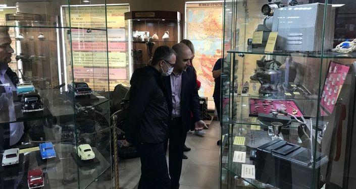 В Южной Осетии с рабочим визитом находится делегация министерства экономического развития РФ