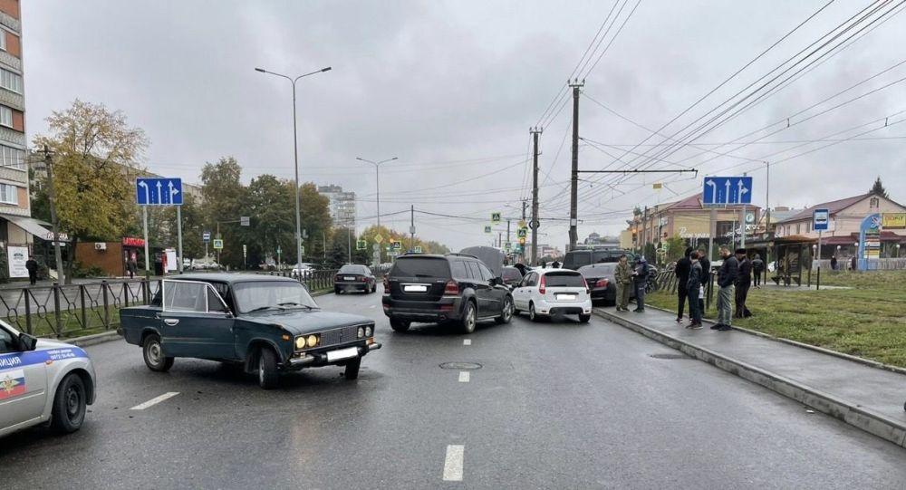 ДТП во Владикавказе