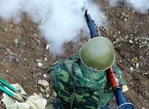 Учения мотострелков в Южной Осетии