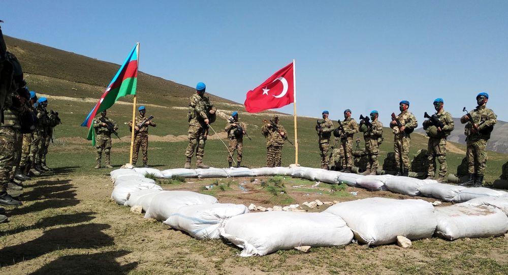 Совместные тактические учения Турции и Азербайджана. Архивное фото