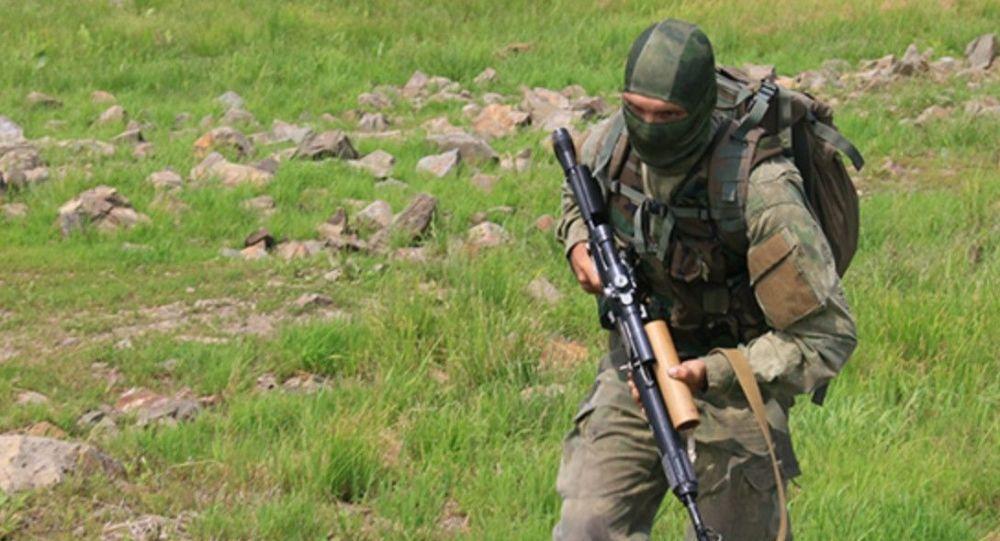 Итоговая проверка профессиональных навыков разведчиков ЮВО в Северной Осетии