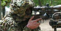 Украинский военнослужащий. Архивное фото