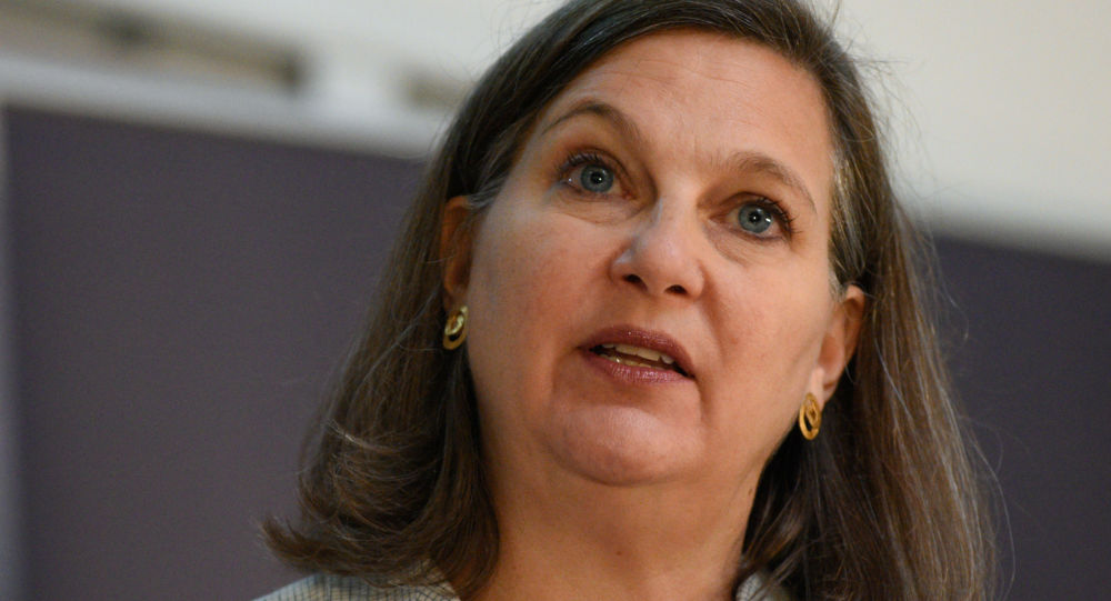 Помощник госсекретаря США Виктория Нуланд. Архивное фото.