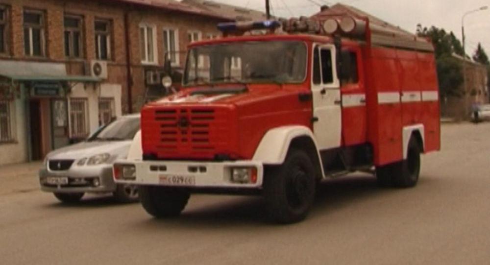 Первой пожарной части в Цхинвале 85 лет