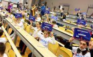 Школьники из Южной Осетии приняли участие в олимпиаде по ментальной арифметике в России