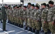 В Министерстве обороны проведен строевой смотр