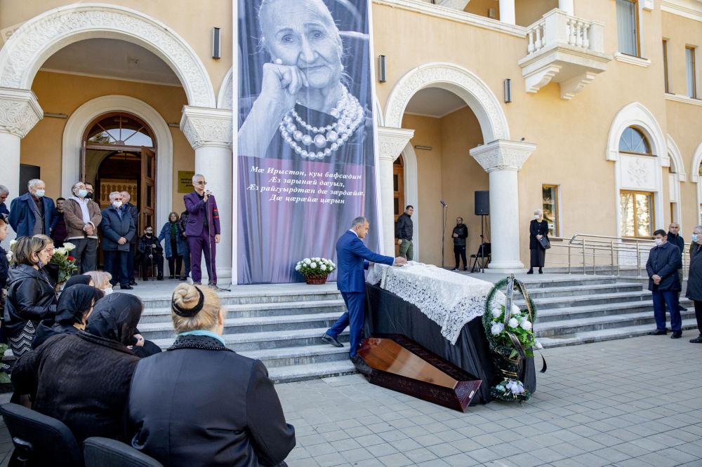 Похороны Людмилы Галавановой