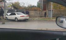 В Цхинвале произошла авария недалеко от перекреста улицы Советской и проспекта А.Джиоева