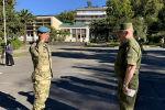 Югоосетинские военные, участвовавшие в учениях в Абхазии, награждены медалями