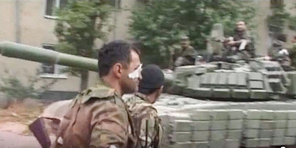 Анатолий Бибилов во время вооруженного конфликта 2008 года