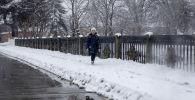 Цхинвал в снегу