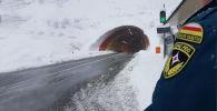 Снегопад на Транскаме