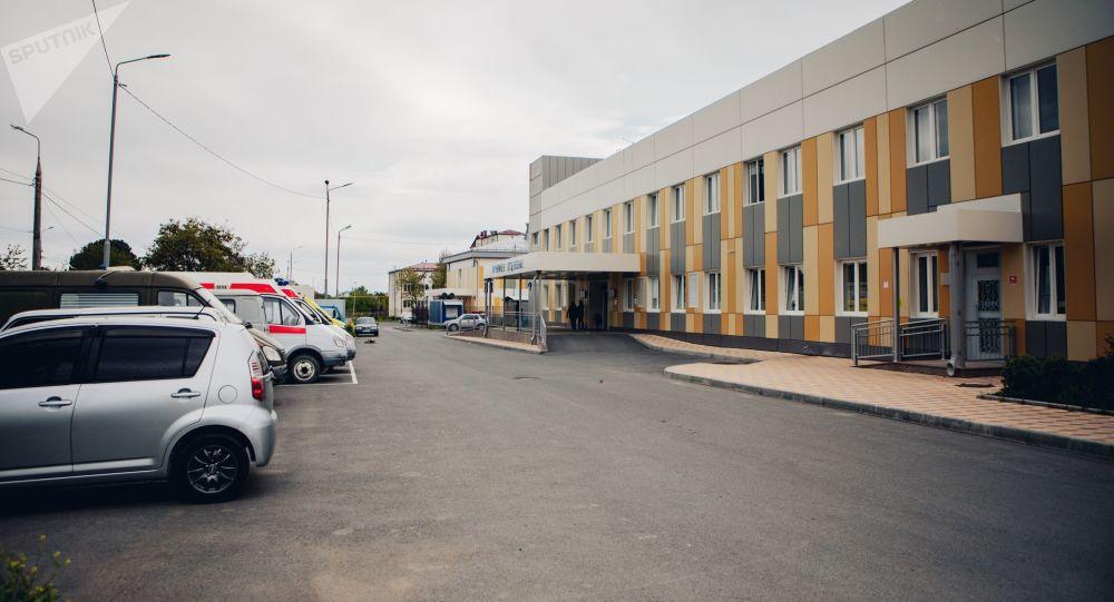Больница г. Цхинвал