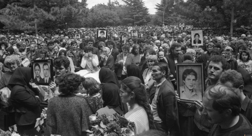 Похороны жертв Зарской трагедии