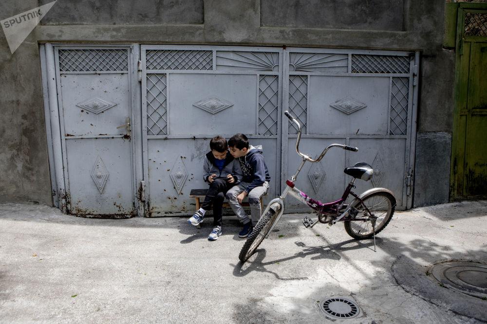 Дети в Цхинвале