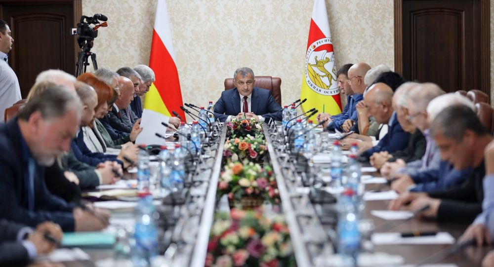 Совещание президента Южной Осетии