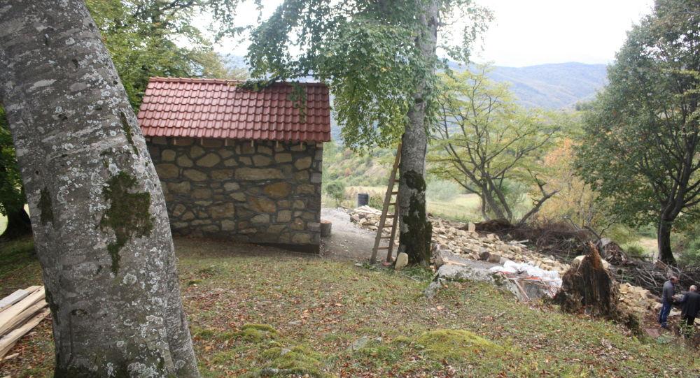 Святилище Реком в Южной Осетии