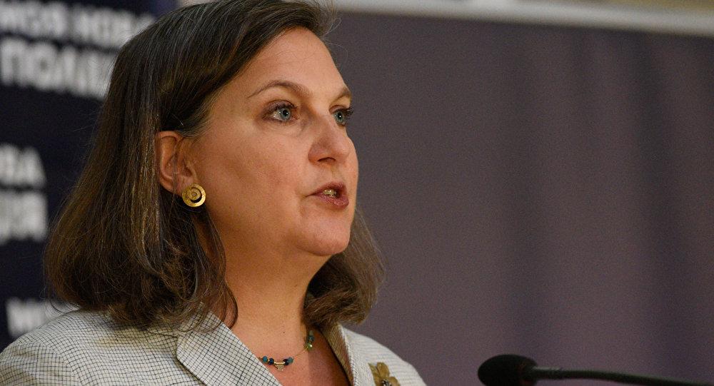 Помощник госсекретаря США Виктория Нуланд, архивное фото.
