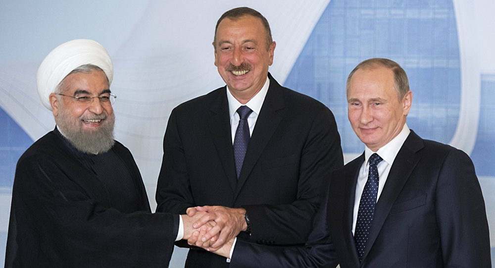 Визит президента РФ Владимира Путина в Азербайджан