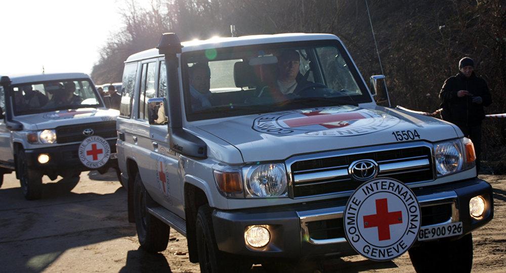 Президент Международного комитета Красного Креста Петер Маурер посетил станицу Луганская