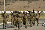 Подъем по тревоге личного состава танкового батальона ЮВО