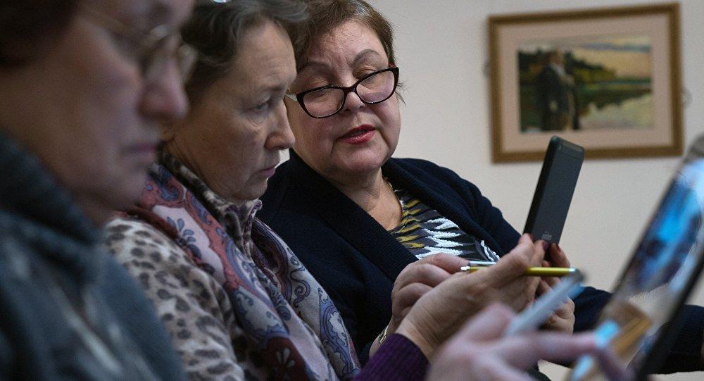 Обучение планшетной грамоте для пенсионеров