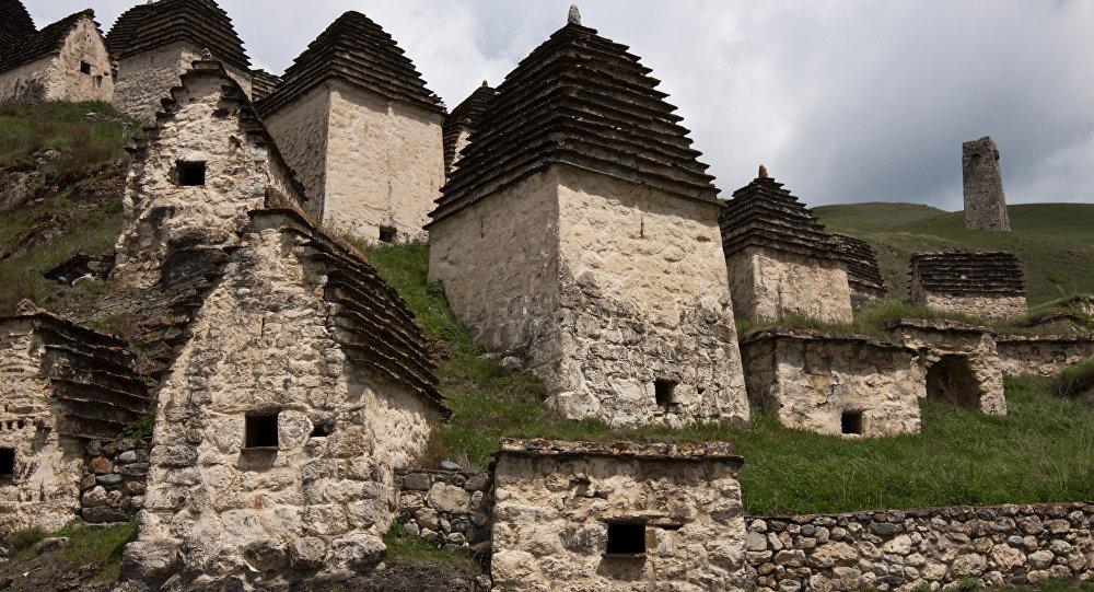 Город мертвых у села Даргавс
