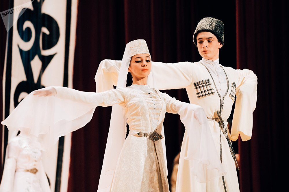 Отчетный концерт детской хореографической студии Кафт