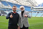 Наивные Путешественники с Ахриком Цвейбой – легендарным советским, российским и украинским футболистом.