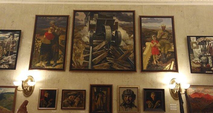 Художник Вадим Каджаев участвует в выставке Лики Родины