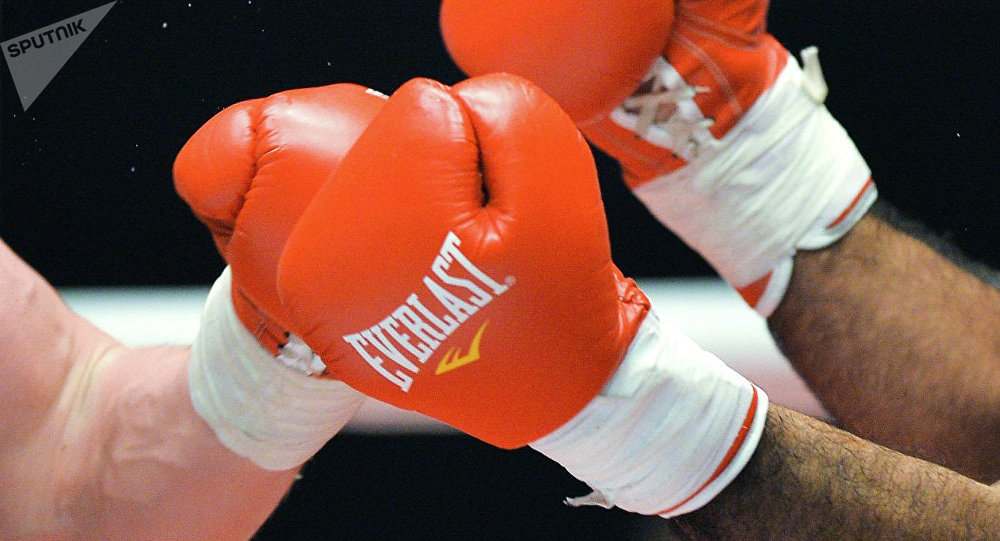 Бокс, архивное фото