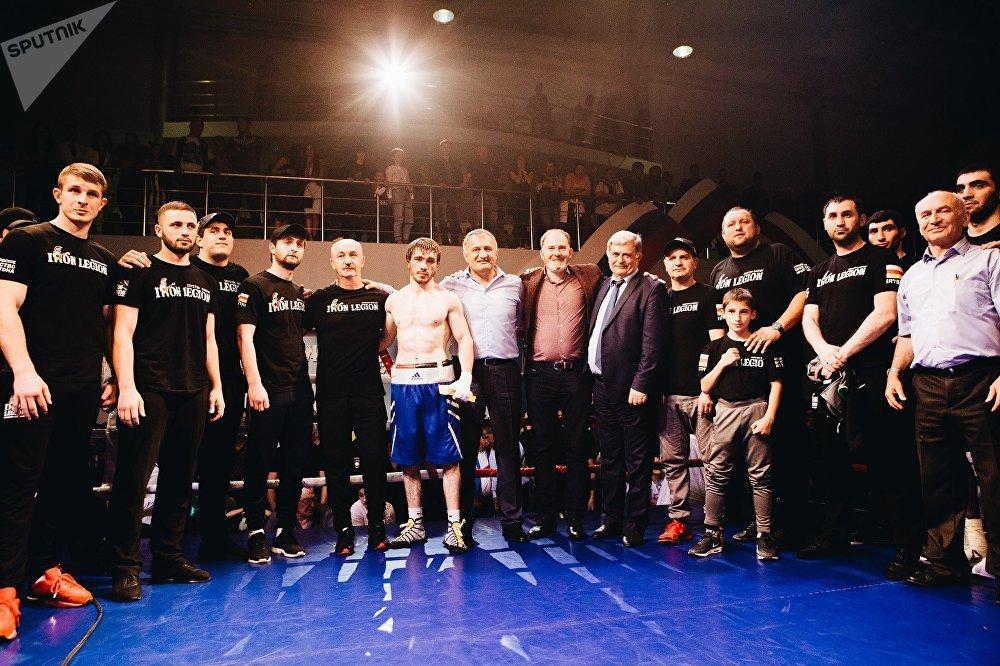 Международный турнир по боксу среди профессионалов