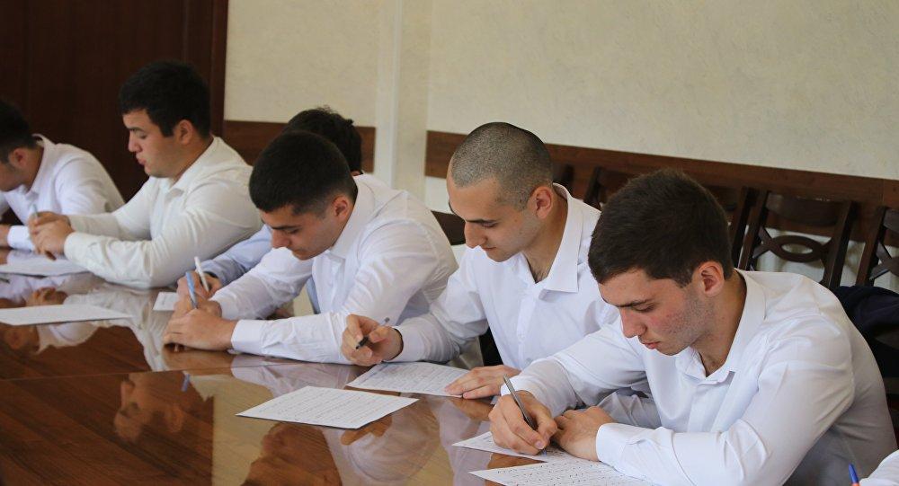 Минобороны Южной Осетии отбирает кандидатов на поступление в вузы России