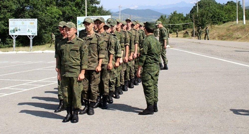 В Южной Осетии проходит призыв в армию