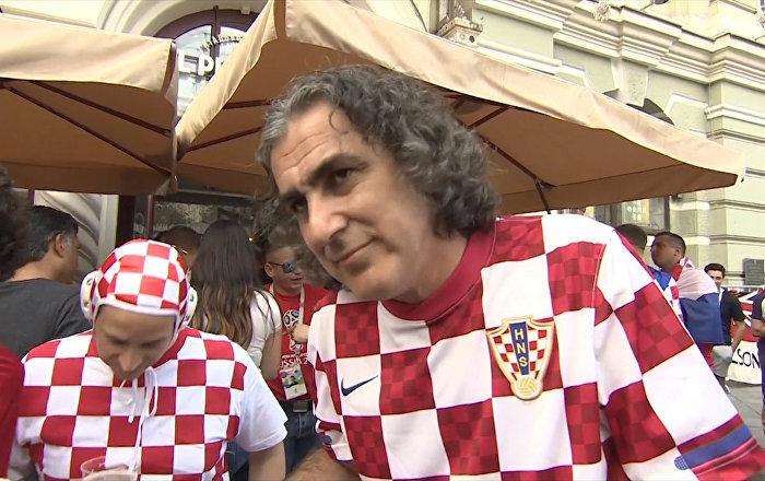 Хорватские болельщики о поступке защитника своей сборной