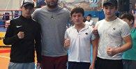 Финалисты турнира на призы экс-чемпиона мира Мурата Гассиева