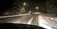 Первый снег на Транскаме