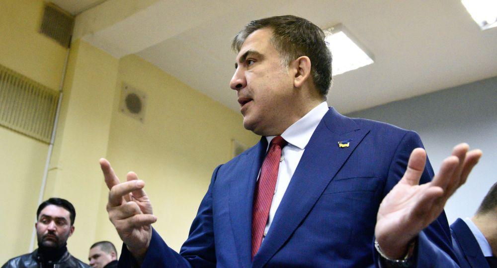 Бывший губернатор Одесской области Украины Михаил Саакашвили