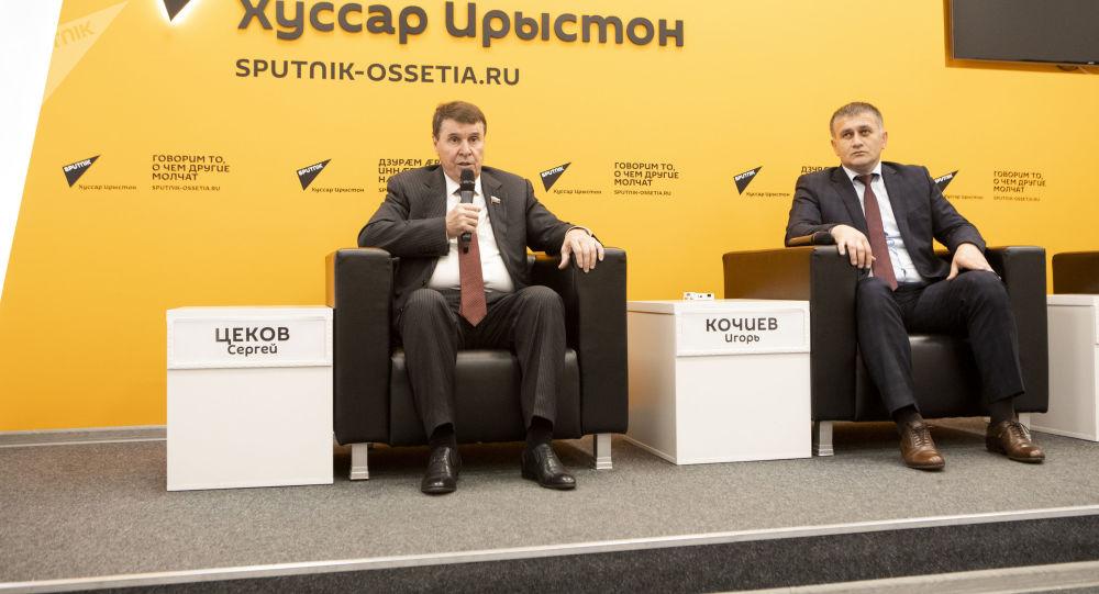Пресс-конференция: Сергей Цеков и Игорь Кочиев