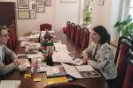 Встреча директора Госдрамтеатра Южной Осетии с ректором ГИТИСа
