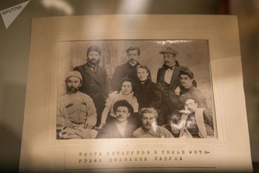 Коста Хетагуров в семье фотографа Джанаева Садула