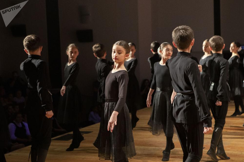Открытый урок хореографического кружка Кафт