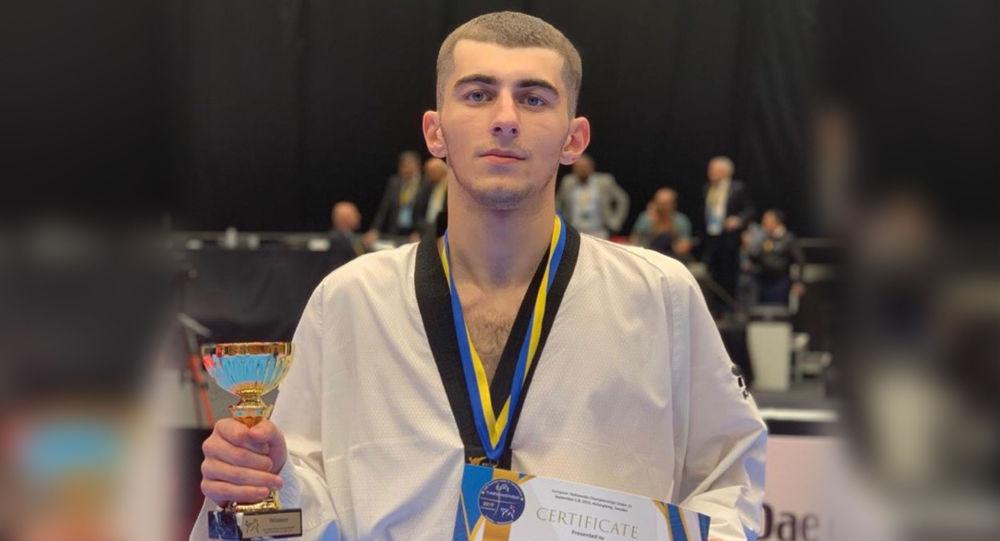 Сармат Цакоев стал победителем первенства Европы по тхэквондо U-21