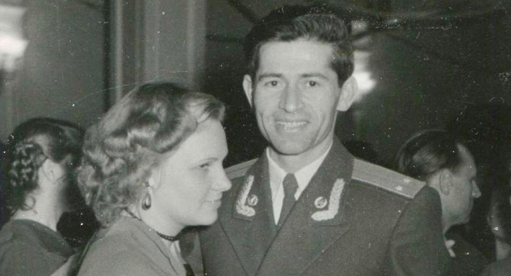 Владимир Лохов с супругой Нонной Лоховой (Толстой)