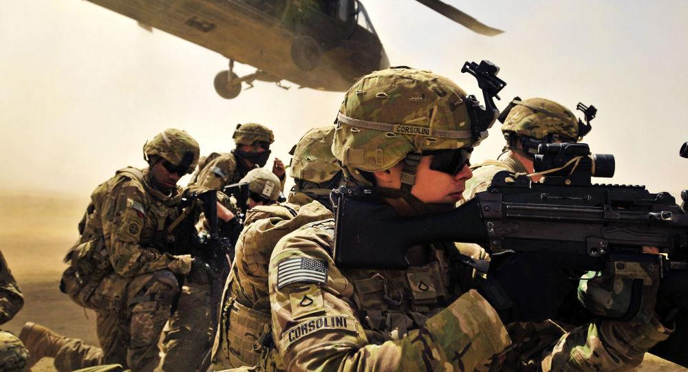 Военнослужащие армии США в провинции Кандагар, Афганистан