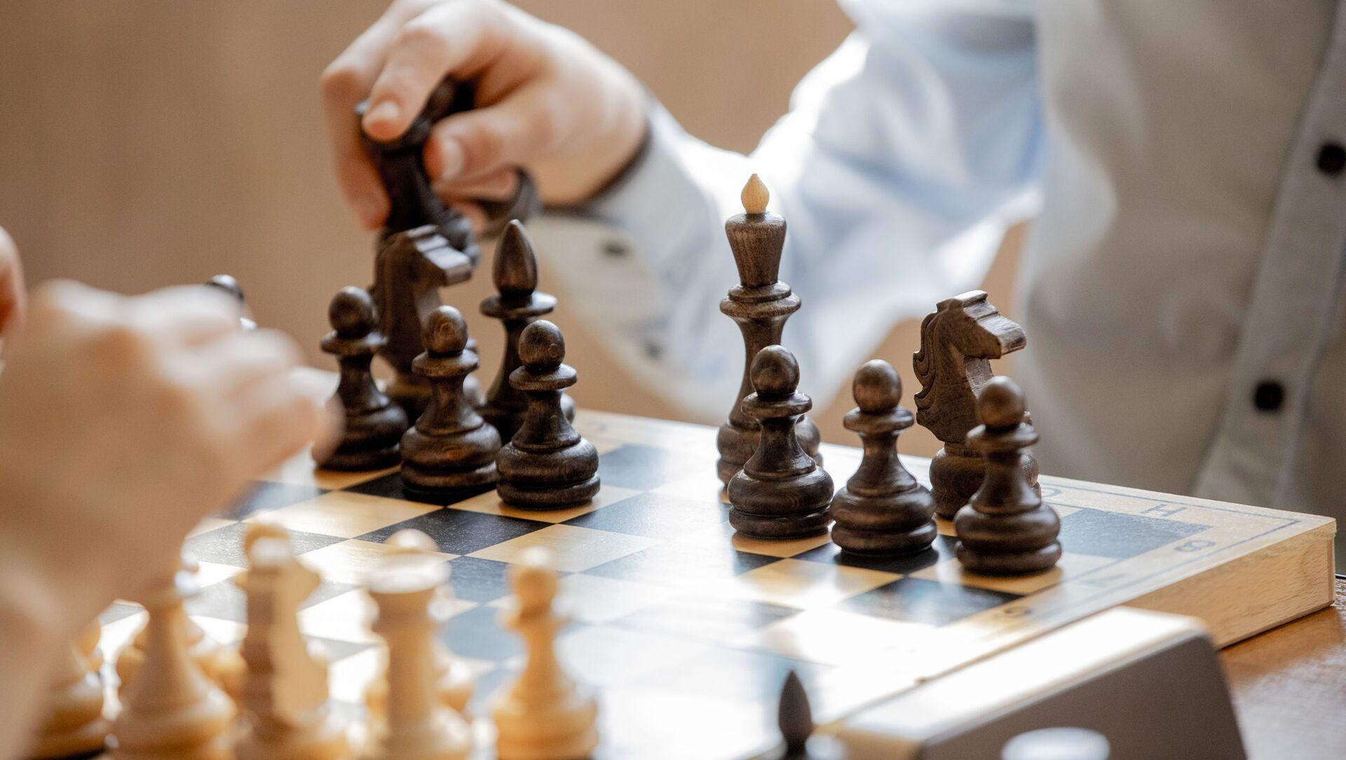 Шахматный турнир, посвященный Дню Победы 9 мая - Sputnik Южная Осетия, 1920, 27.09.2021