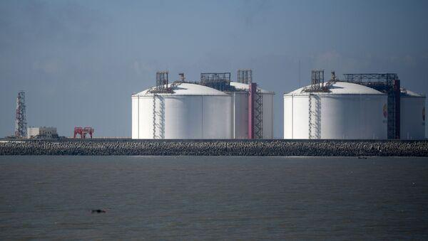 Прибытие  двух танкеров со сжиженным газом проекта «Ямал СПГ в Китай  - Sputnik Южная Осетия
