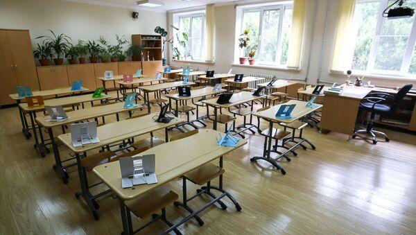 Пустой учебный класс  - Sputnik Южная Осетия