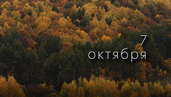 День 7 октября - Sputnik Южная Осетия